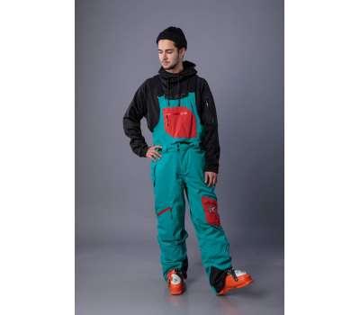 Штаны для сноуборда Freeride Bib Pants Turquoise