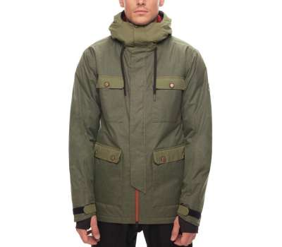 Куртка для сноуборда 686 Cult Insulated Fatigue Melange