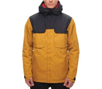 Куртка для сноуборда 686 Men's Moniker Insulated Golden Colorblock