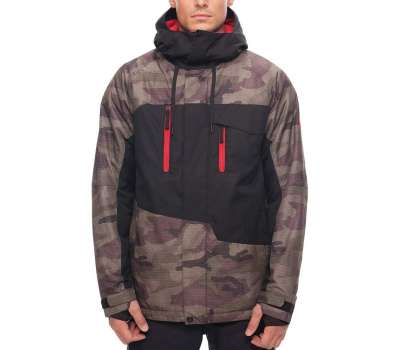 Куртка для сноуборда 686 Men's Geo Insulated Camo Color Block