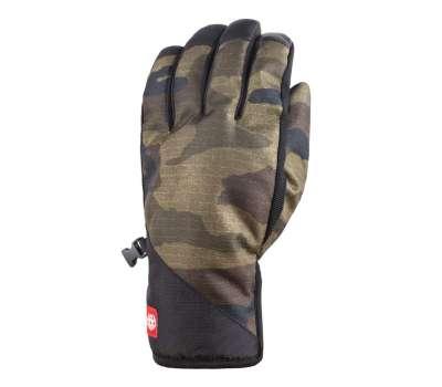 Перчатки горнолыжные, сноубордические 686 Men's Ruckus Pipe Glove - Сamo Print