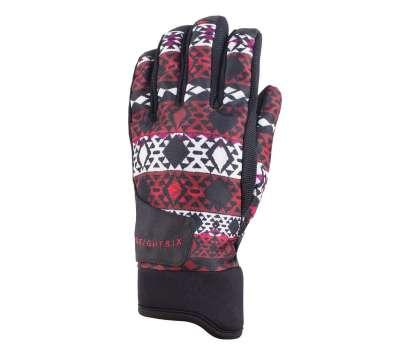 Перчатки горнолыжные, сноубордические 686 Women's Crush Glove - Red Nordic