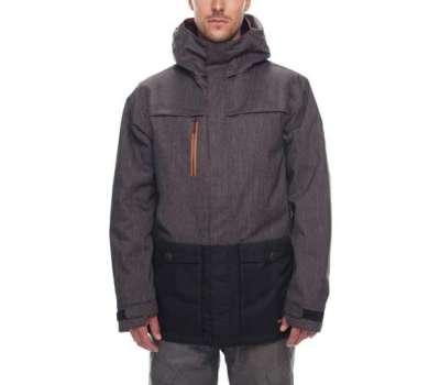 Сноубордическая куртка 686 Anthem Insulated Black Denim