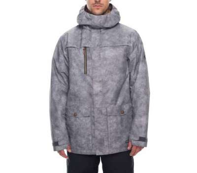 Сноубордическая куртка 686 Anthem Insulated Charcoal Wash