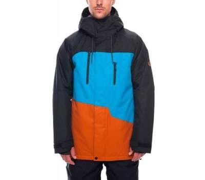 Сноубордическая куртка 686 Geo Insulated Bluebird Colorblock