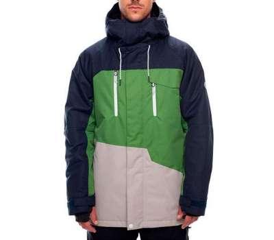 Сноубордическая куртка 686 Geo Insulated Navy Colorblock
