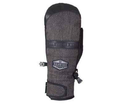 Сноубордические перчатки 686 Infiloft Recon Glove Black Denim
