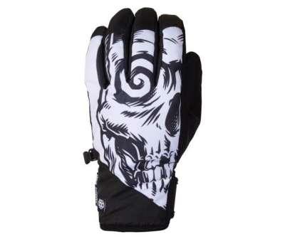 Сноубордические перчатки 686 Ruckus Pipe Glove Black Sublimation