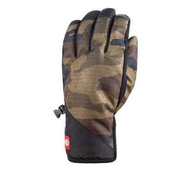 Сноубордические перчатки 686 Ruckus Pipe Glove Dark Camo
