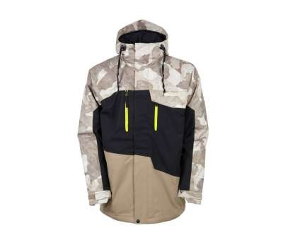 Куртка для сноуборда 686 Men's Geo Insulated Khaki Camo