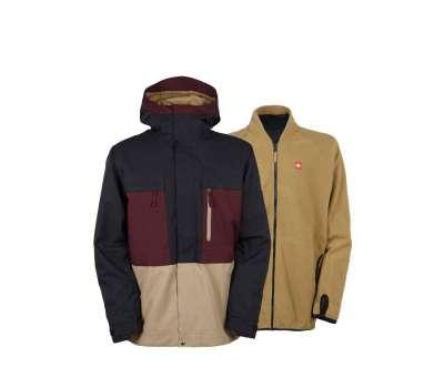 Куртка для сноуборда 686 Men's Authentic Smarty Form Black Ruby