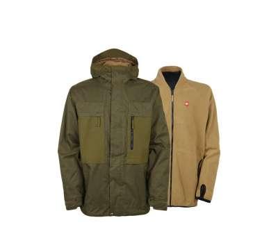 Куртка для сноуборда 686 Men's Authentic Smarty Form Olive Melange