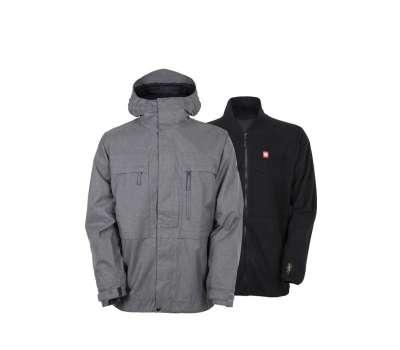 Куртка для сноуборда 686 Men's Authentic Smarty Form Steel Melange