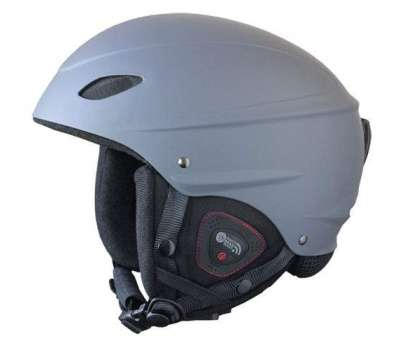 Шлем для сноуборда Demon 6508 Phantom Audio Steel(grey)
