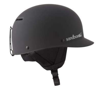 Шлем для сноуборда SandBox Classic 2.0 Snow Black