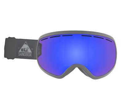SandBox THE BOSS - GREY WITH BLUE CHROME LENS