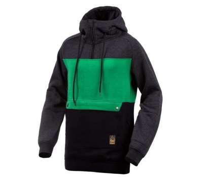 Худи SWHK Exception Hoodie - Grey/Green/Black | купить, цена, отзывы | прокат сноубордов и лыж SVOBODA