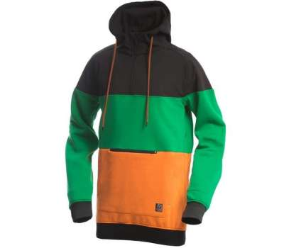 Худи SWHK Exception Black Green Orange