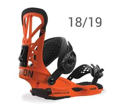 Крепления для сноуборда UNION Flite Pro Orange