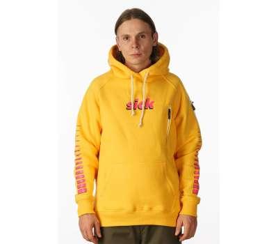 Худи 2DAY Sick Yellow