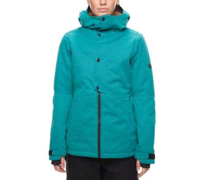 Куртка для сноуборда 686 Women's Rumor Insulated Teal Slub