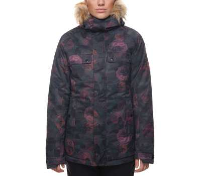 Куртка для сноуборда 686 Women's Dream Insulated Camo Rose Print