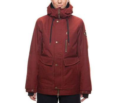Куртка для сноуборда 686 Women's Phoenix Insulated Rusty Red