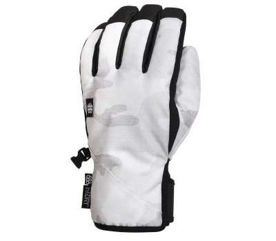 Сноубордические перчатки 686 Ruckus Pipe Glove White Camo