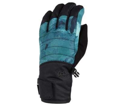 Сноубордические перчатки 686 Infiloft Majesty Glove Camo Rose