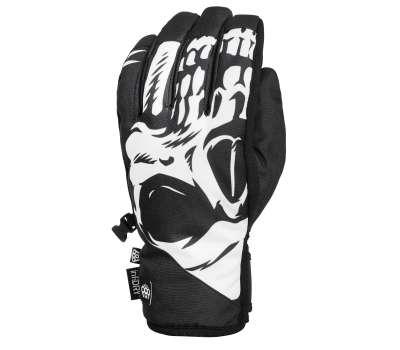 Сноубордические перчатки 686 Ruckus Pipe Glove Black Reaper