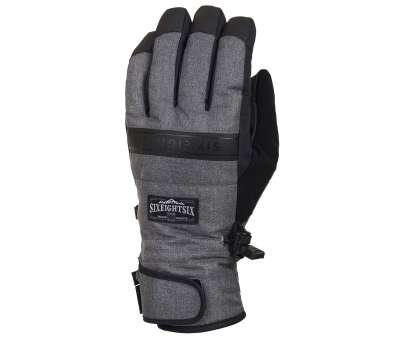 Сноубордические перчатки 686 Infiloft Recon Glove Grey Melange