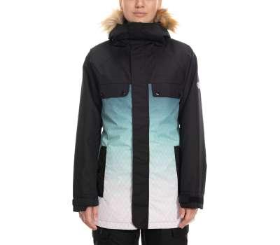Куртка для сноуборда 686 Women's Dream Insulated Black Diamond Sublimation