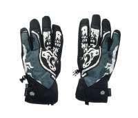 Сноубордические перчатки 686 20/21 Ruckus Pipe Goblin Blue Skull