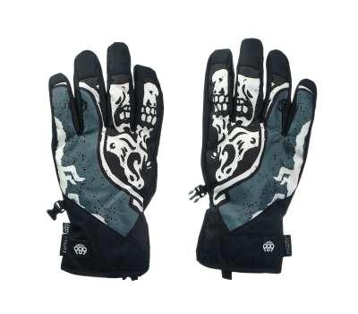 Сноубордические перчатки 686 Ruckus Pipe Goblin Blue Skull