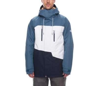 Сноубордическая куртка 686 Geo Insulated Bluesteel Colorblock