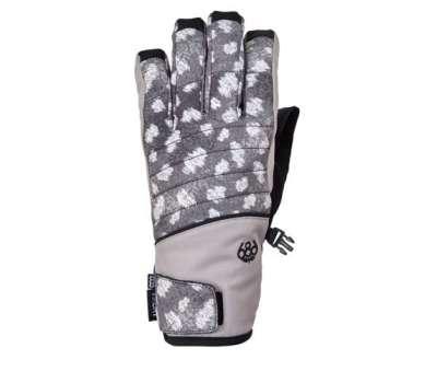 Сноубордические перчатки 686 Infiloft Majesty Glove Grey Doe