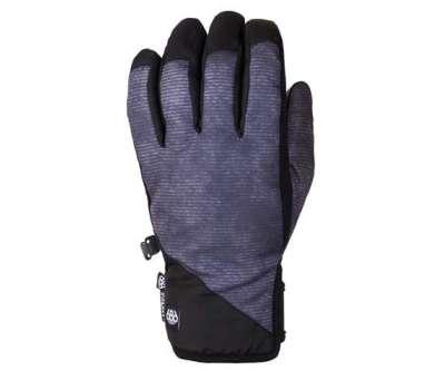 Сноубордические перчатки 686 Ruckus Pipe Glove Charcoal Wash
