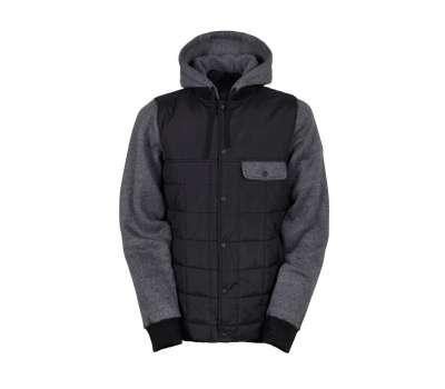 Куртка для сноуборда 686  Men's Parklan Bedwin Insulated Black