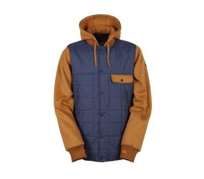 Куртка для сноуборда 686  Men's Parklan Bedwin Insulated Blue/Cognac