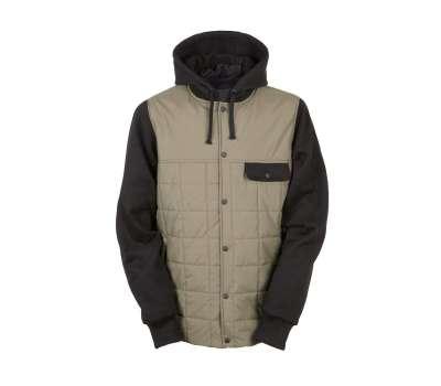 Куртка для сноуборда 686  Men's Parklan Bedwin Insulated Olive/Black