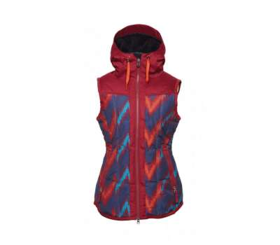 Сноубордическая куртка 686 Hillside Vest Navy Colorblock