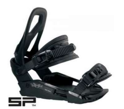 Крепления для сноуборда SP RX 360 BLACK