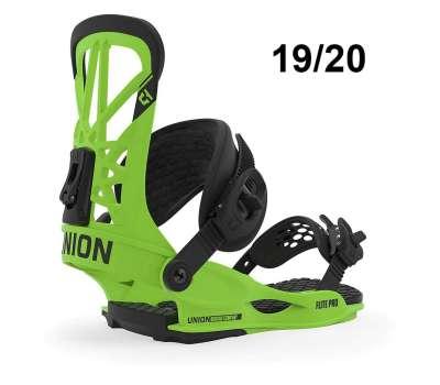 Крепления для сноуборда UNION Flite Pro Green