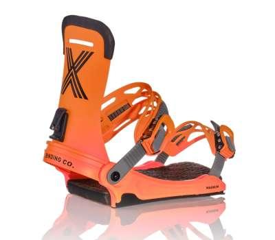 Крепления для сноуборда FIX 21 Mns Magnum Orange