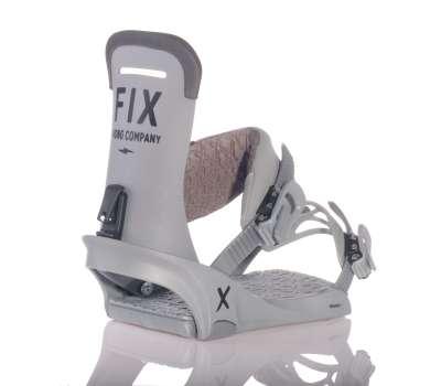 Крепления для сноуборда FIX 21 Uni Truce Charcoal