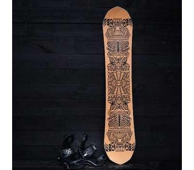 Сноуборд комплект: доска SVBD Aztec + крепы SVBD