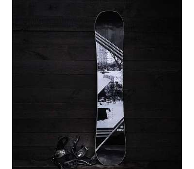 Сноуборд комплект:  доска SVBD Cruiser + крепы SVBD
