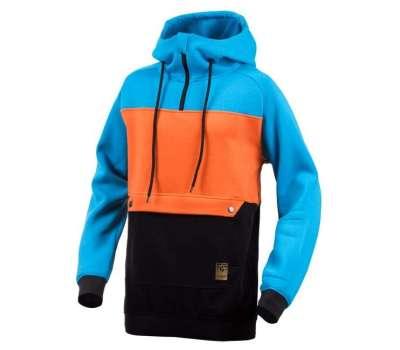 Худи SWHK Exception Hoodie - Blue/Orange/Black