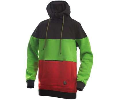 Худи SWHK Exception Black Green Red