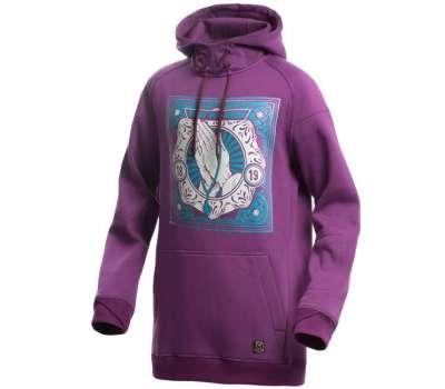 Худи SWHK Minimal In Purple Neon